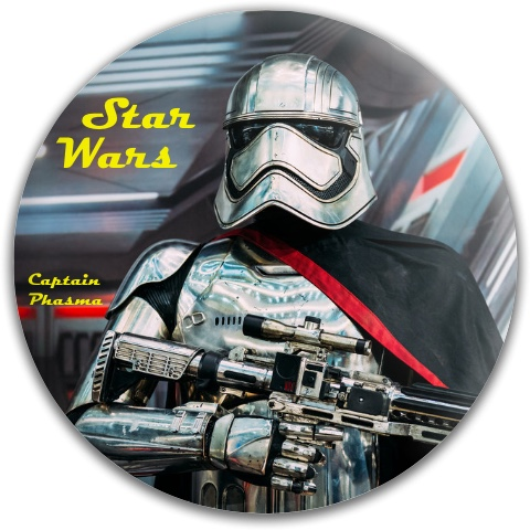 Captain Phasma Dynamic Discs Fuzion Felon Driver Disc