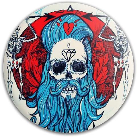 Blue Beard Westside Discs Harp Tournament Plastic Putter