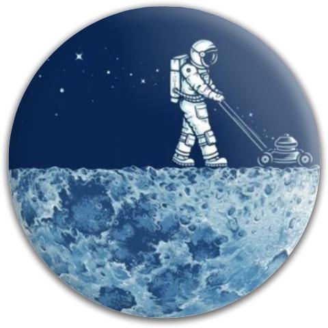 The man on the moon Dynamic Discs Fuzion Evidence Midrange Disc