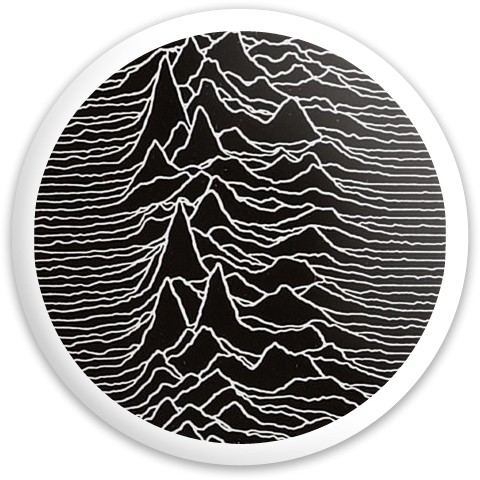 Unknown Pleasures Latitude 64 Gold Line Missilen Driver Disc