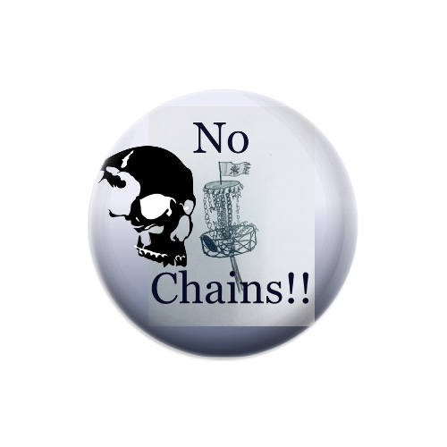 No Chains discgolf club Dynamic Discs Judge Mini Disc Golf Marker