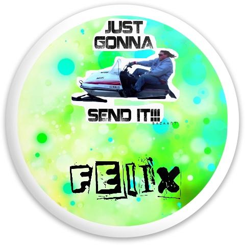 Dynamic Discs Fuzion Enforcer Driver Disc #62644
