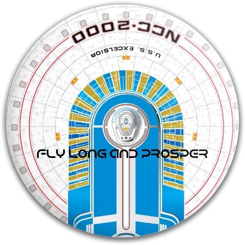 Star trek Dynamic Discs Fuzion Truth Midrange Disc