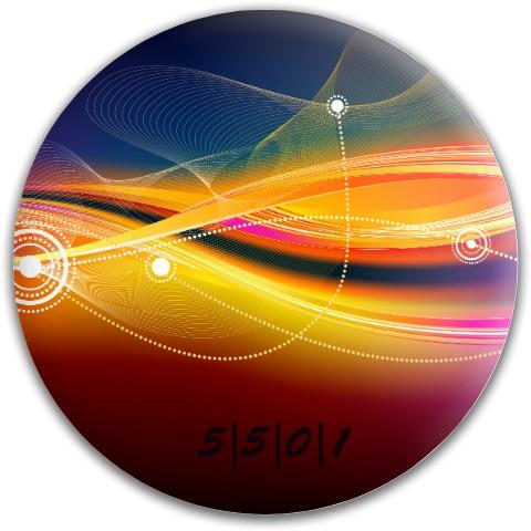 Latitude 64 Gold Line Compass Midrange Disc  #63742