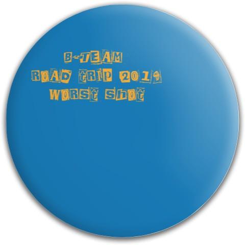 Dynamic Discs Fuzion Warden Putter Disc #64647