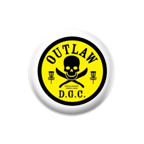 OUTLAW D.G.C. Mini Dynamic Discs Judge Mini Disc Golf Marker