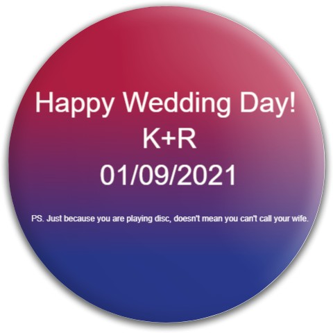 Wedding Gift Dynamic Discs Deputy Putter Disc
