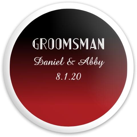 Groomsman #1 Dynamic Discs Captain Driver Disc
