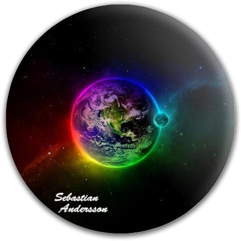 Latitude 64 Gold Line Compass Midrange Disc  #71778