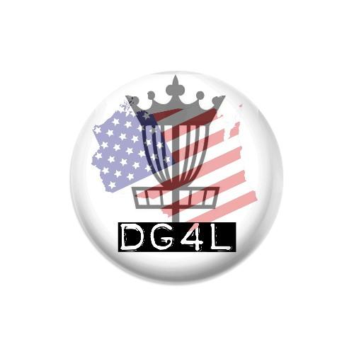DG4L Dynamic Discs Judge Mini Disc Golf Marker