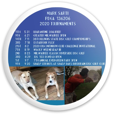 Mark's Tournaments Dynamic Discs Latitude 64 Opto Explorer