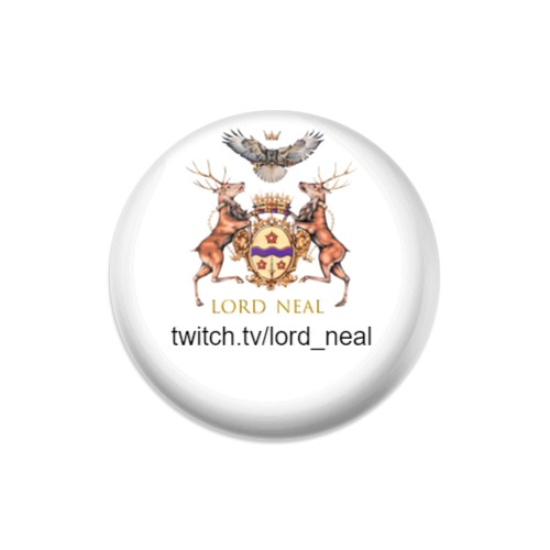 Lord Neal Dynamic Discs Judge Mini Disc Golf Marker