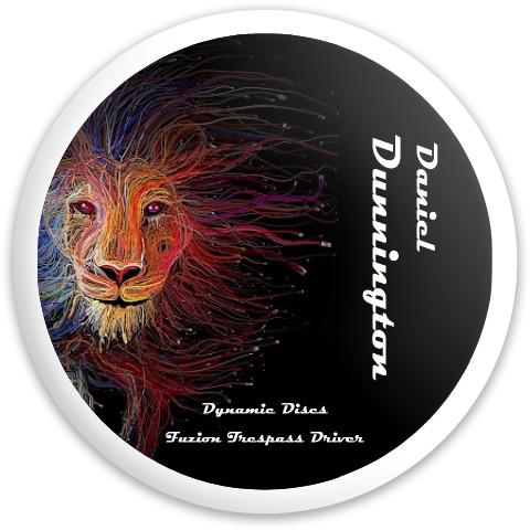 Lion's Pride Fuzion Trespass Dynamic Discs Fuzion Trespass Driver Disc