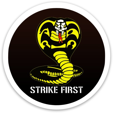 Cobra Kai - Strike First - Driver Dynamic Discs Captain Driver Disc