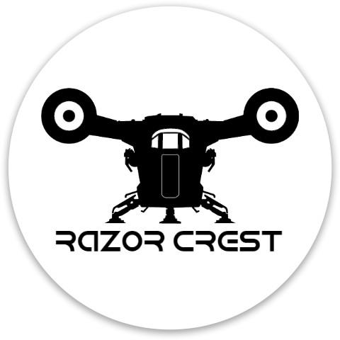 Razor Crest Dynamic Discs Fuzion Trespass Driver Disc