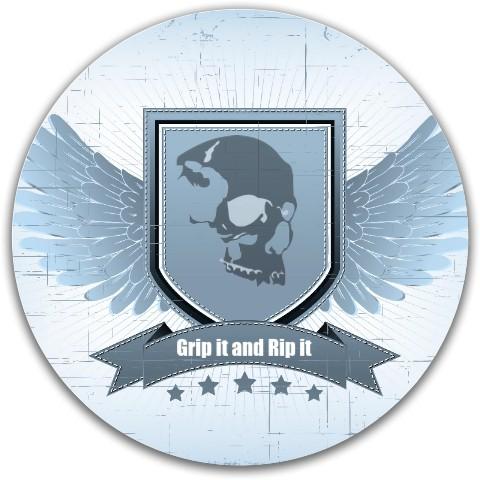 Skull tone Dynamic Discs Fuzion Justice Midrange Disc