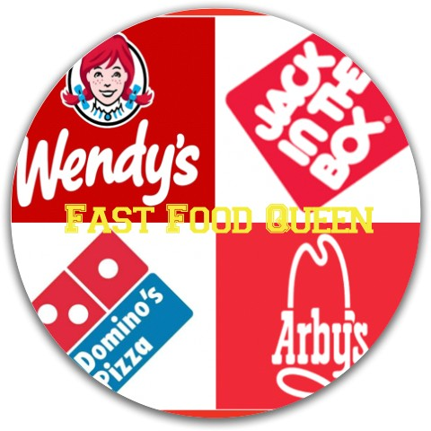Fast Food Queen Dynamic Discs Fuzion Justice Midrange Disc