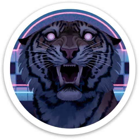 Neon Tiger Dynamic Discs Raider Driver Disc
