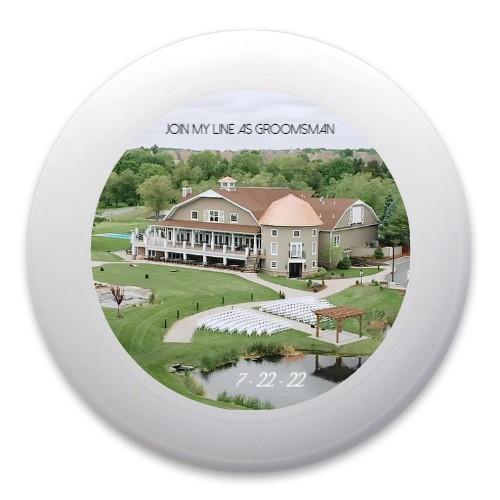 Groomsman Ultimate Frisbee