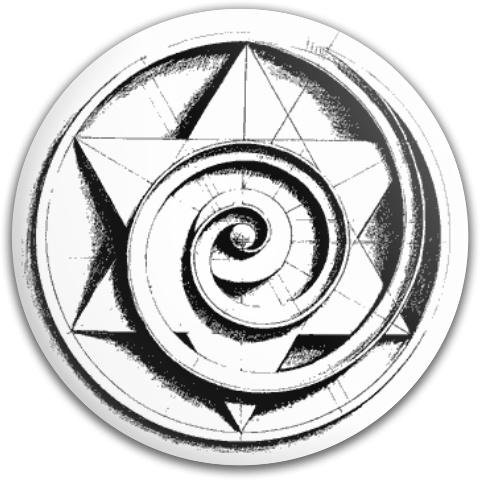 The Star Spiral Dynamic Discs Fuzion Judge Putter Disc