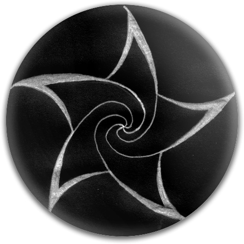 Spiral Star by CheckingTheCheese Dynamic Discs Fuzion Judge Putter Disc