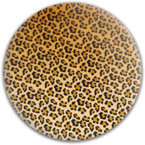 Cheetah Print Dynamic Discs Fuzion Truth Midrange Disc