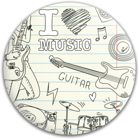 I Heart Music Dynamic Discs Fuzion Verdict Midrange Disc