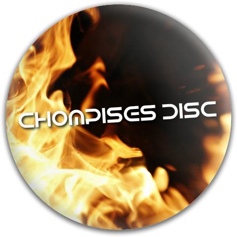 Chompise gamer disc Dynamic Discs Fuzion Thief Driver Disc