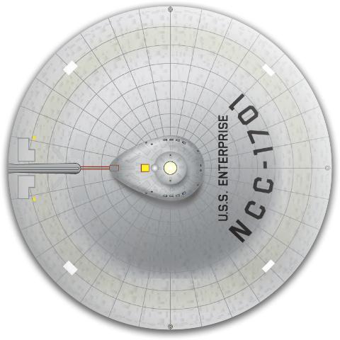 Enterprise TOS Dynamic Discs Fuzion Judge Putter Disc