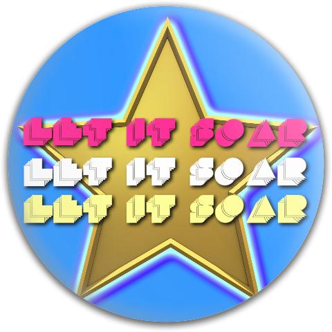 Let It Soar Dynamic Discs Fuzion Judge Putter Disc
