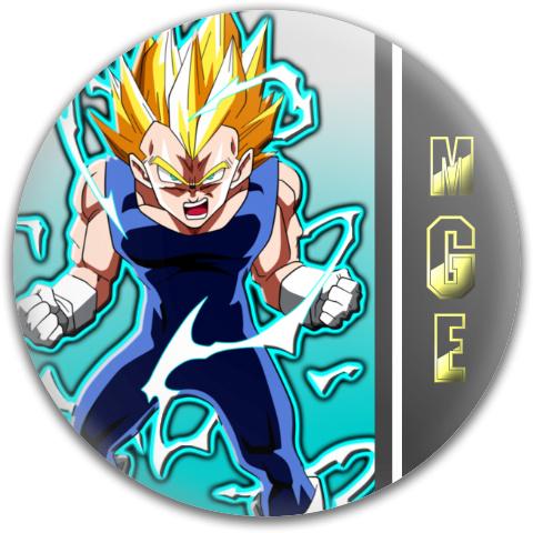 Super Saiyan Vegeta Design Dynamic Discs Fuzion Truth Midrange Disc