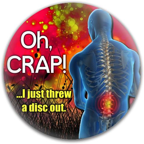 Bad Back Dynamic Discs Fuzion Truth Midrange Disc