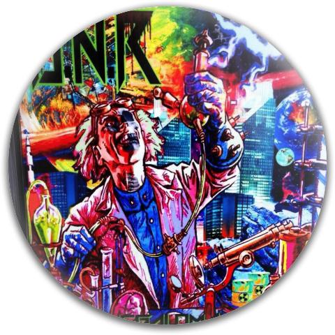 DNR Dynamic Discs Fuzion Convict Driver Disc