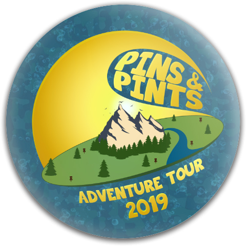 Pins & Pints 2019 A Dynamic Discs Fuzion Convict Driver Disc