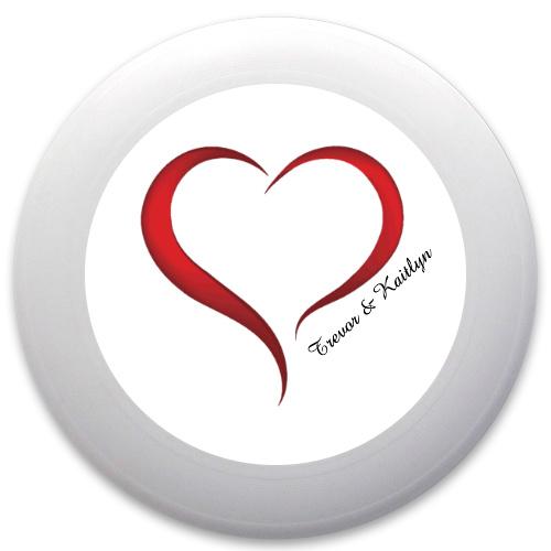Heart Discraft Ultrastar Ultimate Frisbee