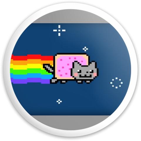 Nyan Dynamic Discs Fuzion Trespass Driver Disc