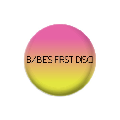 A Disc for Baby Dynamic Discs Judge Mini Disc Golf Marker