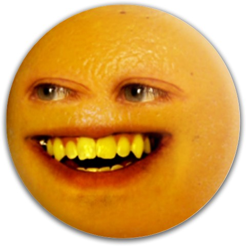 Annoying Orange Dynamic Discs Fuzion Felon Driver Disc