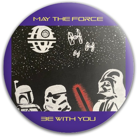 May the force be with you Westside Tournament Harp Putter Disc